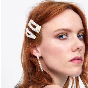 Zara hair clips